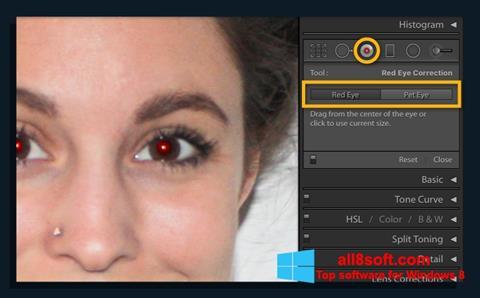 Screenshot Red Eye Remover Windows 8