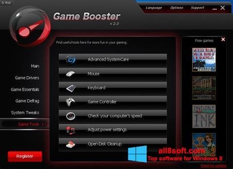 Screenshot Game Booster Windows 8