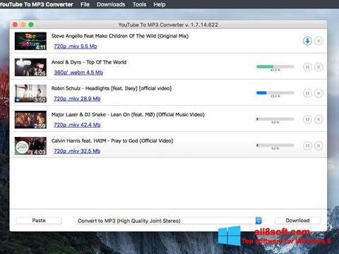 Screenshot Free YouTube to MP3 Converter Windows 8