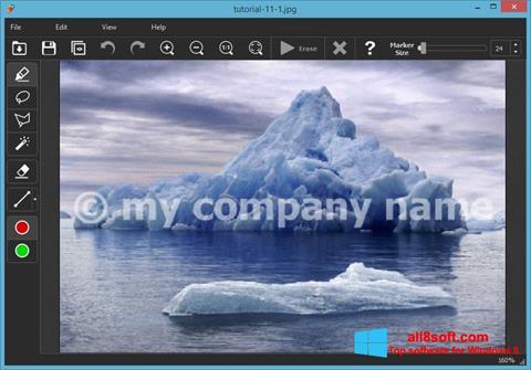 Screenshot Inpaint Windows 8