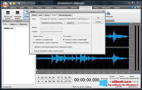 Screenshot AVS Audio Editor Windows 8