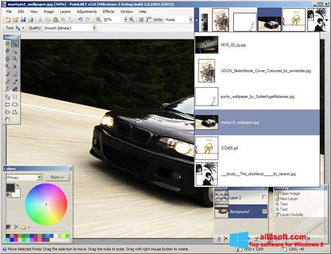 Screenshot Paint.NET Windows 8