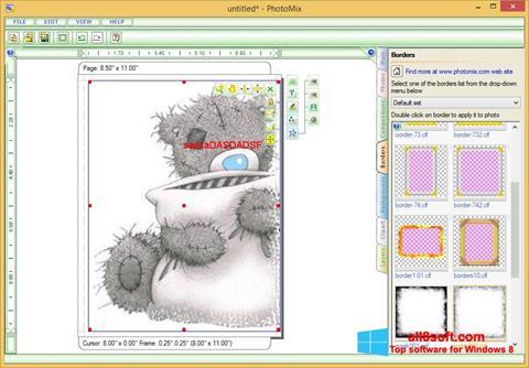 Screenshot PhotoMix Collage Windows 8