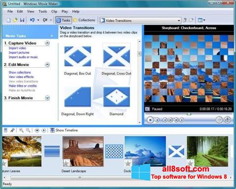 Screenshot Windows Movie Maker Windows 8