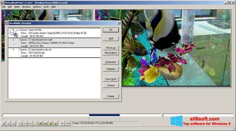Screenshot VirtualDubMod Windows 8