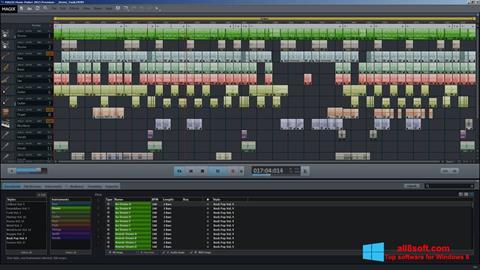Screenshot MAGIX Music Maker Windows 8