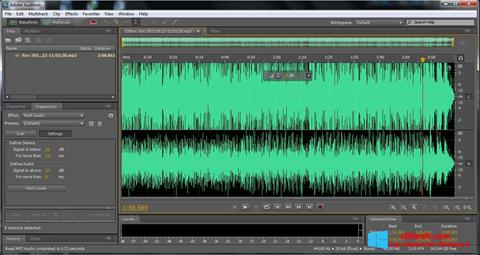 Screenshot Adobe Audition Windows 8
