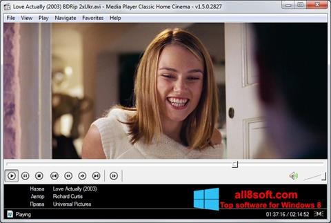 Screenshot Media Player Classic Home Cinema Windows 8