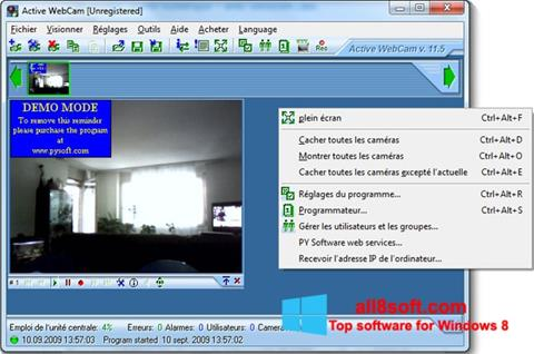 Screenshot Active WebCam Windows 8