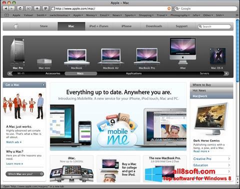 Screenshot Safari Windows 8