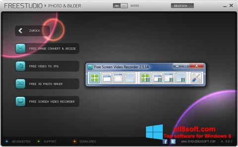 Screenshot Free Studio Windows 8