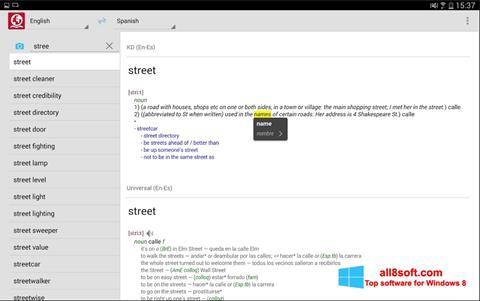 Screenshot ABBYY Lingvo Windows 8