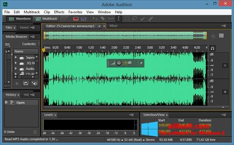 Screenshot Adobe Audition CC Windows 8