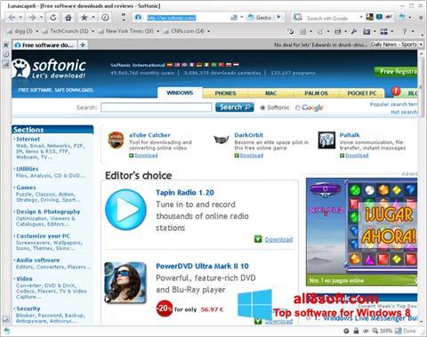 Screenshot Lunascape Windows 8